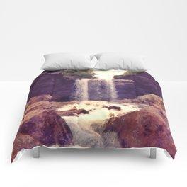 Kentucky Waterfall Comforters