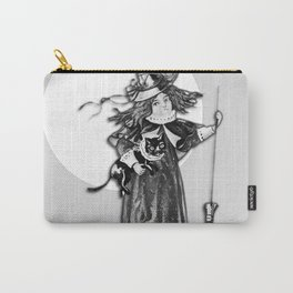 Little Witch Halloween Design Carry-All Pouch