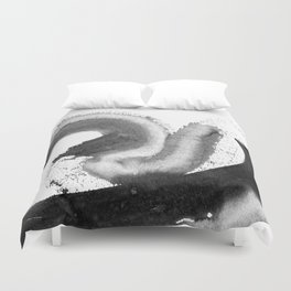 Its not me, its a brush Duvet Cover