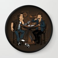 Downtime is Pie Time Wall Clock