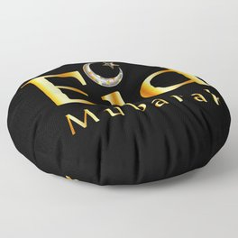 Eid mubarak Floor Pillow