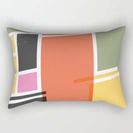 SECRET CYCLING FLAG - VOIGT Rectangular Pillow