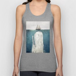 The Whale - vintage Unisex Tank Top