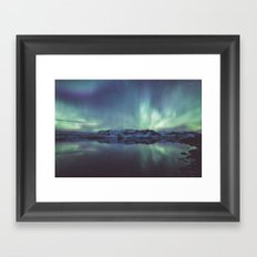 Jokulsarlon Lagoon Framed Art Print
