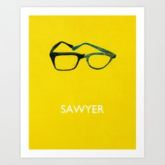 Sawyer Art Print