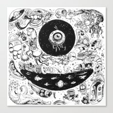 Inktober 2015 Canvas Print