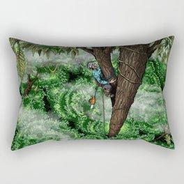 Flip Lining Rectangular Pillow