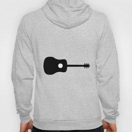 Acoustic Guitar Silhouette Hoody