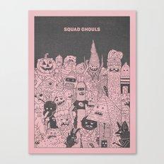 Squad Ghouls Canvas Print