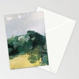original abstract imagined landscape number 4 Stationery Cards
