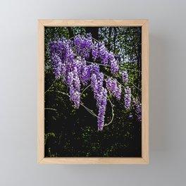 Blossom Drizzle Framed Mini Art Print