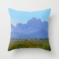 On the Ride Home Throw Pillow