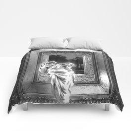 Angel of Bristol (BW) Comforters