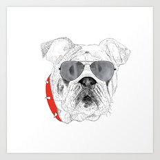 BallDog Art Print