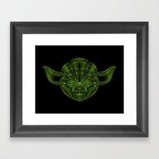 Star . Wars - Yoda Framed Art Print
