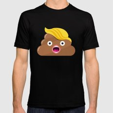 Took a Trump! LARGE Mens Fitted Tee Black