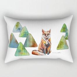 Like a Fox Rectangular Pillow
