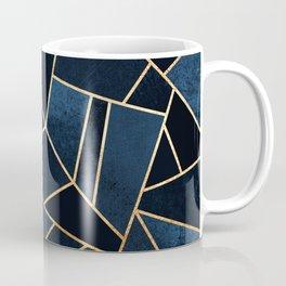 Navy Stone Coffee Mug