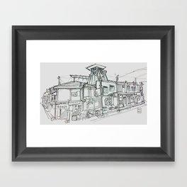 takayama Framed Art Print