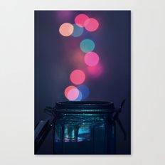Bokeh Lighting Effects II Canvas Print