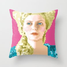 Sa majesté la reine Throw Pillow