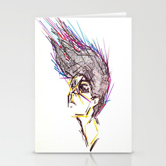Lines In Motion Stationery Cards