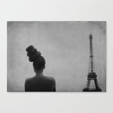 rooftop soliloquy Canvas Print
