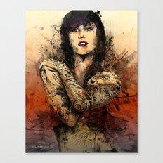 Kat Von D Canvas Print