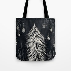 Midnight In A  Burning Forest Tote Bag