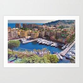 Monaco Art Print