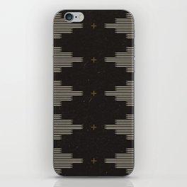Southwestern Minimalist Black & White iPhone Skin