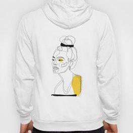 Yellow Sketch Hoody