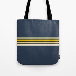 Racing Retro Stripes Tote Bag