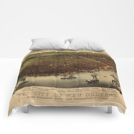 The city of New Orleans (1885) Comforters