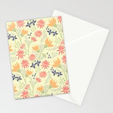 Autumn Floral Pattern Stationery Cards
