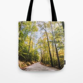 Forest Road - Muir Valley, Kentucky Tote Bag