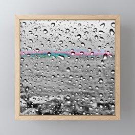 Splashes Framed Mini Art Print