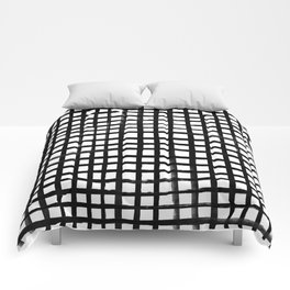 Hand-painted Grid Comforters