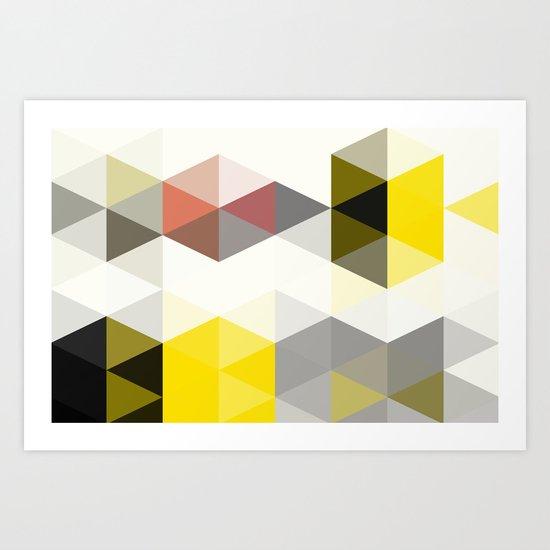 Modern Totem 01. Art Print