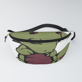 Sleepy Baby Dragon Fanny Pack