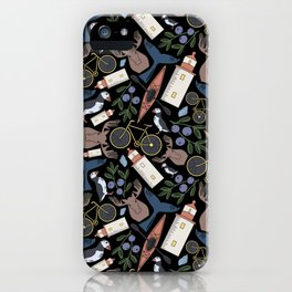 Acadia Pattern 2 iPhone Case
