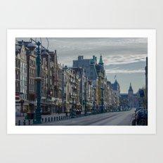 Amsterdam Layover Art Print