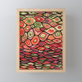 70s psychedelic Framed Mini Art Print