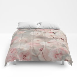 Gypsophila pink blush Comforters