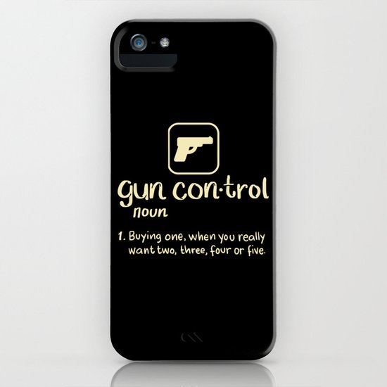 Gun Control Definition Buying One Want Two Three Four Gift by ornack