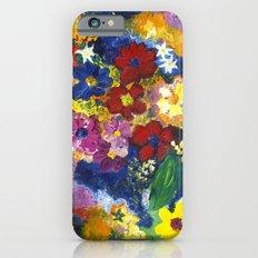 Bright Flowers Slim Case iPhone 6s