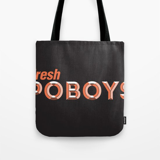 Fresh Poboys Tote Bag