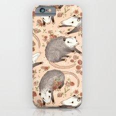 Opossum and Roses Slim Case iPhone 6