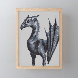 Thestral Framed Mini Art Print