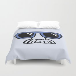 Too Cool (blue) Duvet Cover